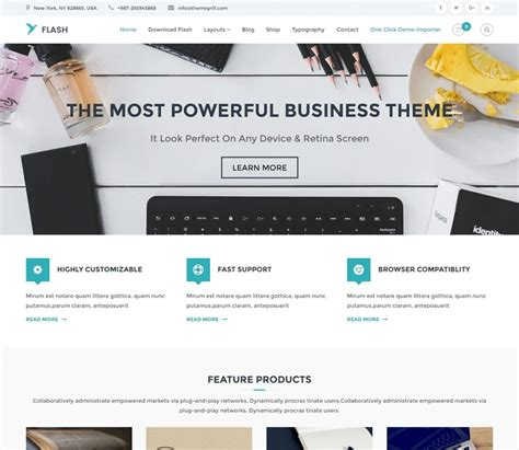 28 free wordpress templates business 14 stunning