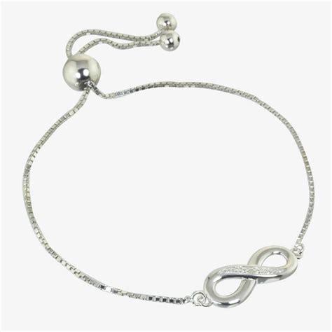 infinity sterling silver friendship bracelet