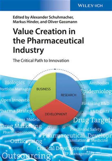 Mba In Pharma From Europe by Wiley Value Creation In The Pharmaceutical Industry The