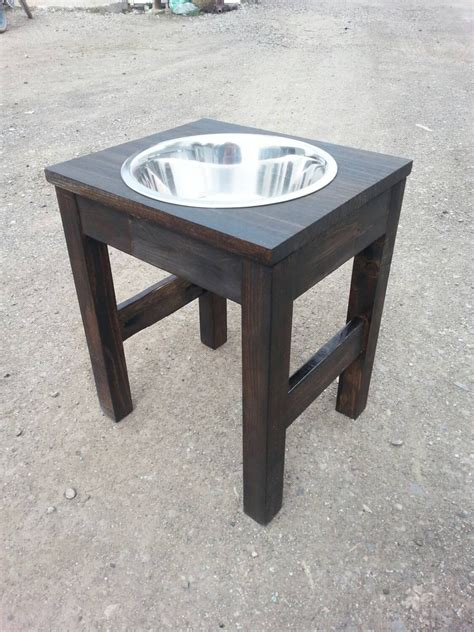 Single Bowl Elevated Feeder raised feeder single bowl raised feeder raised