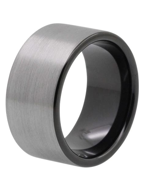 dont buy titanium or tungsten wedding bands 12mm brushed tungsten wedding band quot bristol quot tungsten