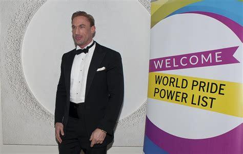 Arrival Christian Doctor Metalic dr christian jessen photos photos world pride power list arrivals zimbio
