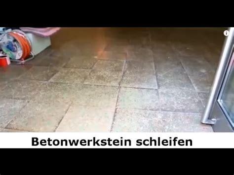 terrazzo in berlin betonwerkstein schleifen und