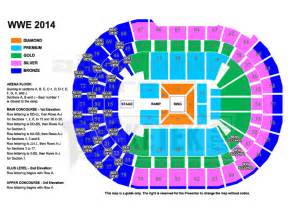 allphones arena floor plan wwe live world tour presented by dainty group