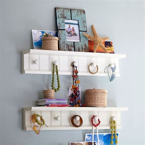 beadboard peg shelf pbteen