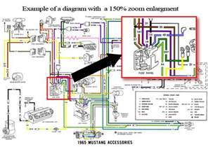 1970 ford mustang colorized wiring diagrams cd rom