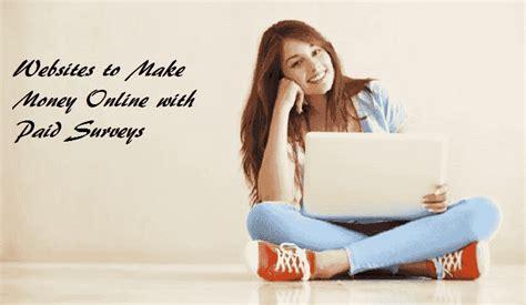 Top Websites To Make Money Online - top 4 websites to make money online with paid surveys let s earn money online