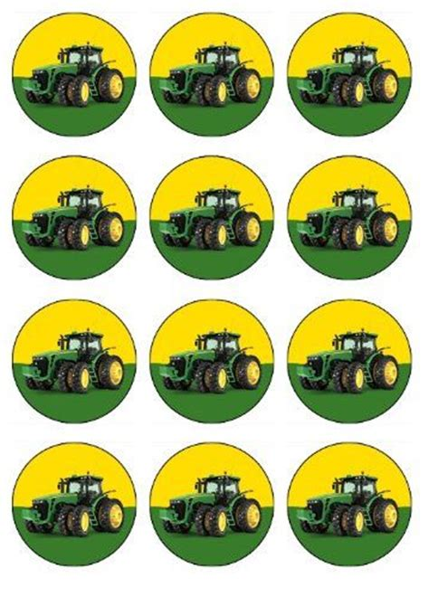 Deere Cupcake Decorations by 17 Best Ideas About Deere Cupcakes On