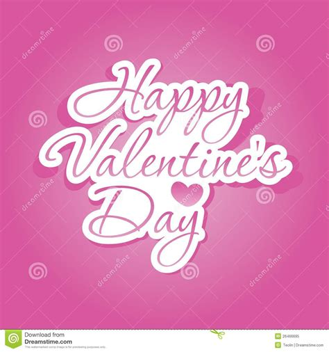 happy valentines day lettering happy s day lettering royalty free stock photo