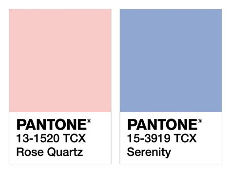 what is the color of 2016 pantone color of the year two for one pantone s color of
