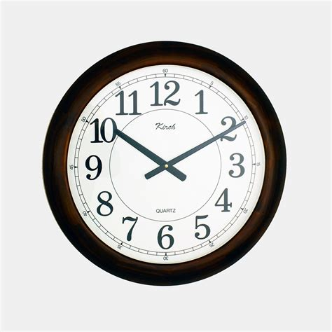 office wall clocks dreamfurniture com wooden office wall clock