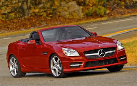 cars mercedes red mercedes benz slk class review and rating motor trend