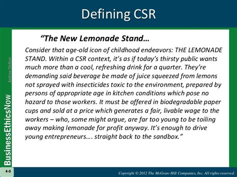 lemonade stand business plan template chapter 4 review