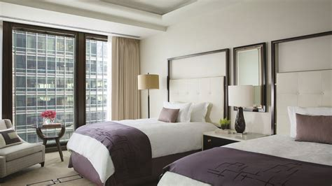 clasic room chicago five deluxe hotel rooms the langham chicago