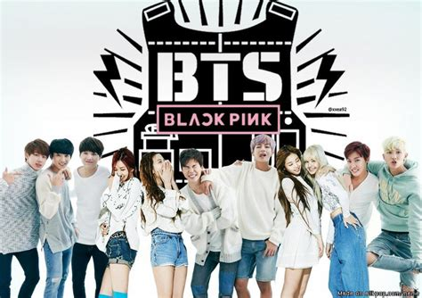 blackpink dan bts bts x blackpink i make this bcos i ship them already gt