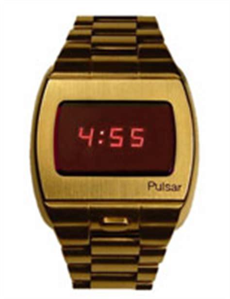 Hamilton Pulsar led watches
