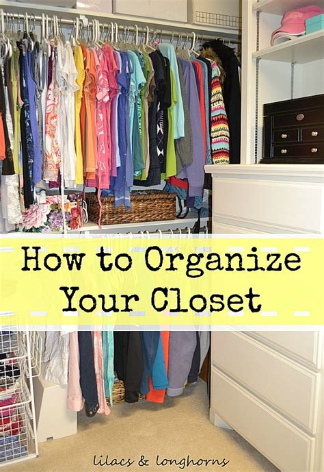 closet organizing tips revisited lilacs