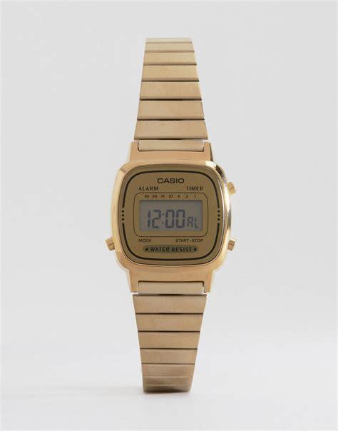 casio oro piccolo orologio oro casio oro gold quartz cinturino prezzo e