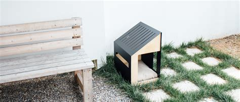 bad dog house minimalist dog houses and pens by bad marlon homeli