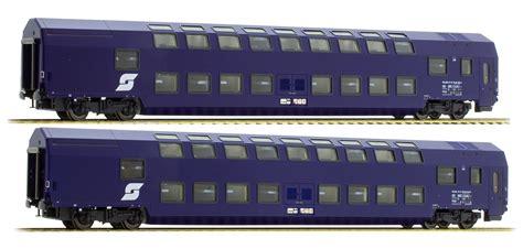 set of 2 ls ls models set of 2 double deck sleeping cars type wlabm