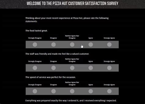 Www Tellpizzahut Com Sweepstakes - www tellpizzahut com pizza hut customer satisfaction survey