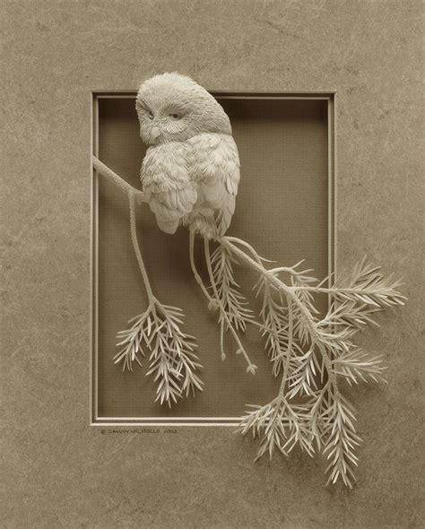 Paper Sculptures - surface fragments bas relief in the 21st century