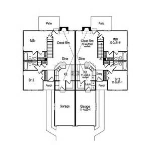 Multi Family House Plans Duplex by Highland Multi Family Duplex Plan 007d 0025 House Plans