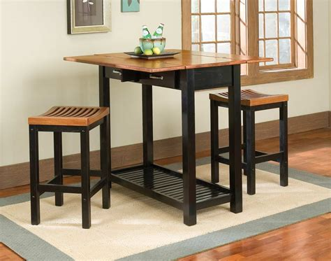 Small High Top Kitchen Table by Small Drop Leaf High Top Kitchen Table Sets With Double