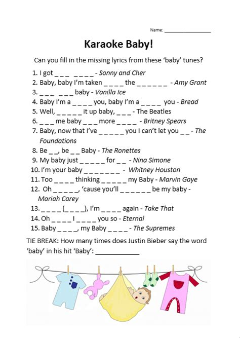 Baby Shower Songs by Free Baby Shower Printables All About A Mummy