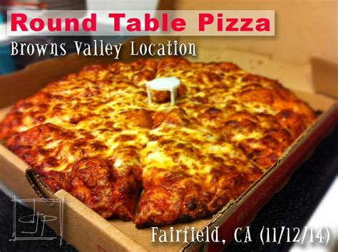 round table pizza in vacaville cheese pizza med good pizza but a bit pricey for a