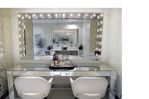Vanity Mirror With Lights Mirrored Makeup Vanity Www Pixshark Images Galleries With A Bite
