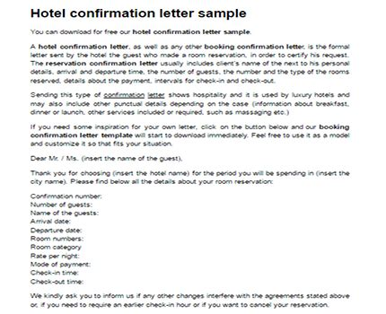 write cancellation letter hotel booking sle guarantee letter for hotel reservation write