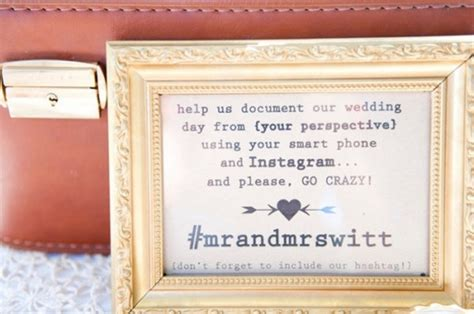 Best Wedding Hashtags Instagram by 10 Great Ideas To Hashtag Your Wedding With Instagram