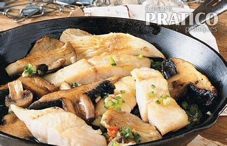 cuisine brochet fricass 233 e de brochet aux chignons recettes cuisine