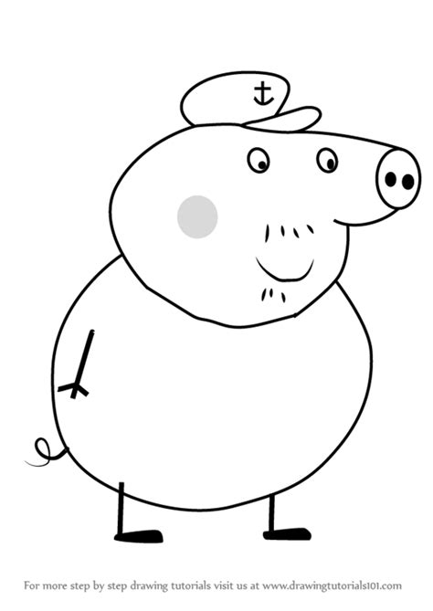 peppa pig drawing templates learn how to draw pig from peppa pig peppa pig