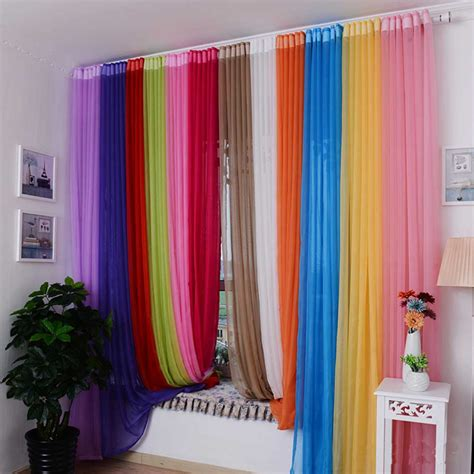 rainbow curtain mind blowing rainbow curtains fascinating idea for home
