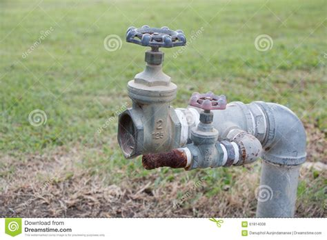 Field Faucet by Big Faucet Big Tap Stock Photo Image 61814008