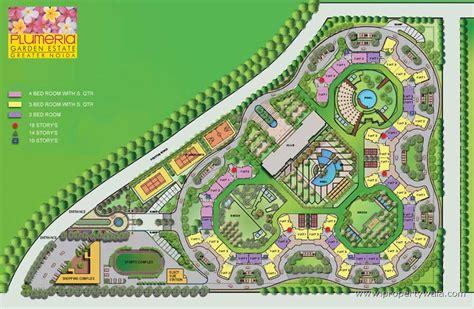 Garden State Mall Layout Uppal Plumeria Garden Estate Omicron Greater Noida