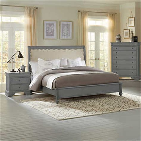 normandie bedroom furniture normandy 4 piece king bedroom set