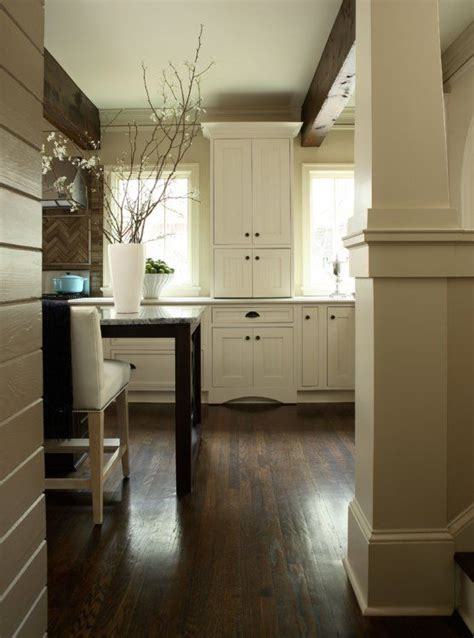 Wood Floors With Light Wood Furniture by Wood Floors Light Cabinets Wood Beams For The