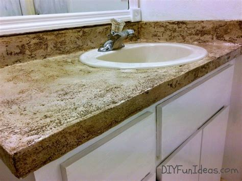 Easy Countertop by Hometalk Easy Concrete Overlay Vanity Makeover