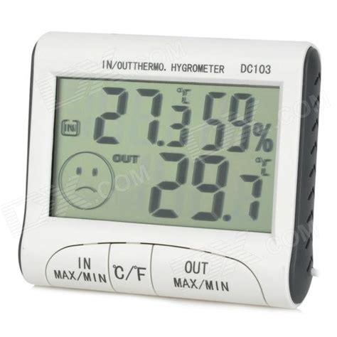 Thermometer Hygrometer Digital 1 digital thermometer and hygrometer b4 equipment