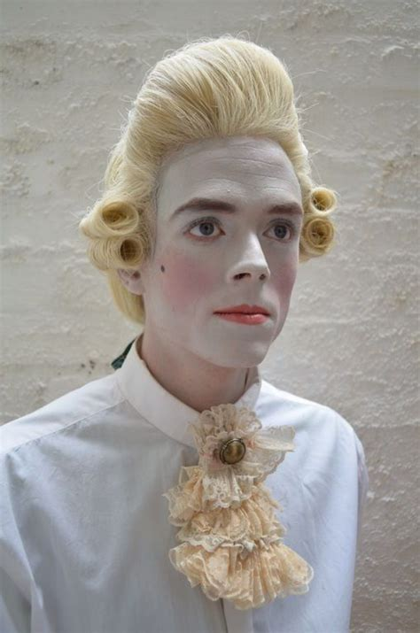 18th century black smith hair 18th century mens wig and makeup people reference