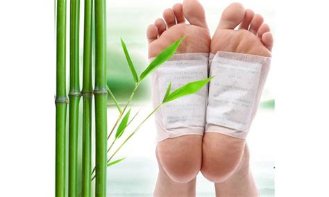 Gg Ca Bamboo And Herbal Detox Foot Patches by Goldrelax Japanese Bamboo Vinegar Foot Detox Patches Deal