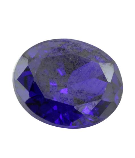 get zircon gemstones that are of purple color oval shape