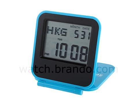 dual time travel alarm clock