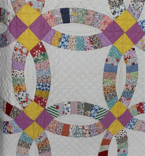 Wedding Ring Pattern Quilt by Bargain S Antiques 187 Archive Antique Wedding Ring Quilt Bargain S Antiques