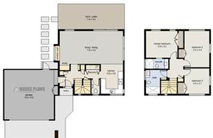 garage house floor plans zen cube 3 bedroom garage house plans new zealand ltd