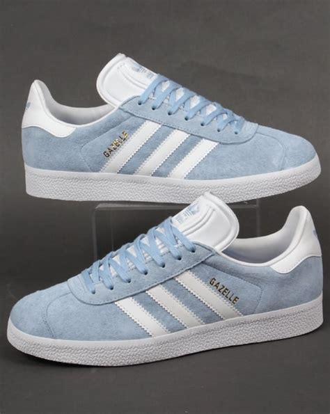 adidas gazelle trainers sky white originals mens sale og 80s style