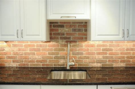 brick veneer backsplash images